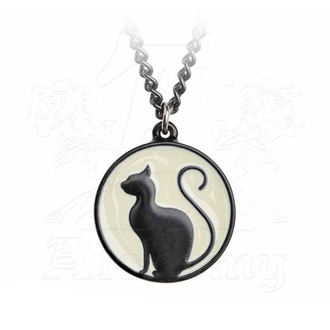Colier cu pandantiv ALCHEMY GOTHIC - Meow At The Moon, ALCHEMY GOTHIC