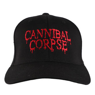 Şapcă CANNIBAL CORPSE - RED - JSR, Just Say Rock, Cannibal Corpse