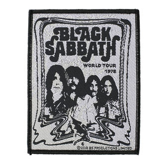 Petic BLACK SABBATH - BAND - RAZAMATAZ, RAZAMATAZ, Black Sabbath