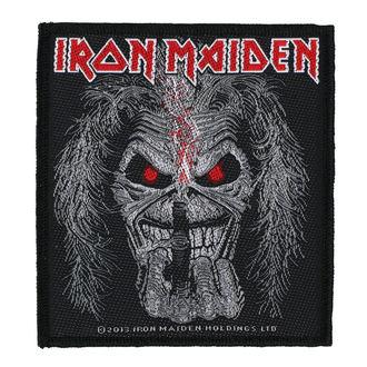 Petic IRON MAIDEN - EDDIE CANDLE FINGER - RAZAMATAZ, RAZAMATAZ, Iron Maiden