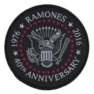 Petic RAMONES - 40TH ANNIVERSARY - RAZAMATAZ, RAZAMATAZ, Ramones