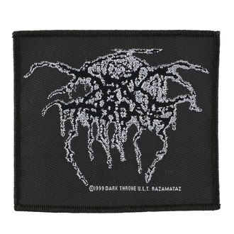 Petic DARKTHRONE - LUREX LOGO - RAZAMATAZ, RAZAMATAZ, Darkthrone