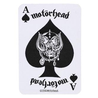 Petic Motörhead - ACE OF SPADES CARD - RAZAMATAZ, RAZAMATAZ, Motörhead