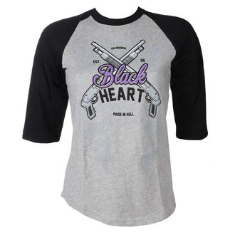 tricou de stradă femei - BH SHOT GUN - BLACK HEART, BLACK HEART