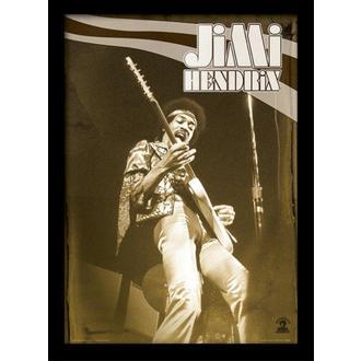 Poster înrămat Jimi Hendrix - Live - PYRAMID POSTERS, PYRAMID POSTERS, Jimi Hendrix