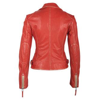 Jachetă de damă (stil motociclist) GIPSY - PGG LABAGV ROT red, NNM