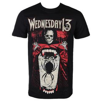 tricou stil metal bărbați Wednesday 13 - SPIDER SHOVEL - PLASTIC HEAD, PLASTIC HEAD, Wednesday 13