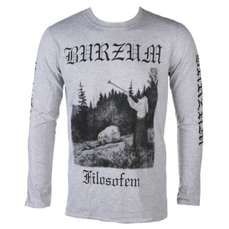 tricou stil metal bărbați Burzum - FILOSOFEM 3 - PLASTIC HEAD, PLASTIC HEAD, Burzum