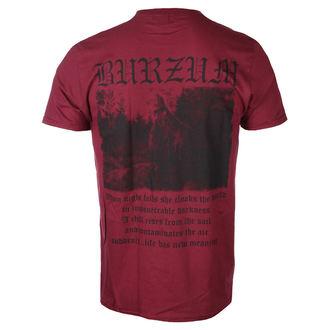 tricou stil metal bărbați Burzum - FILOSOFEM 3 (MAROON) - PLASTIC HEAD, PLASTIC HEAD, Burzum