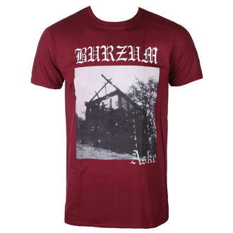 tricou stil metal bărbați Burzum - ASKE (MAROON) - PLASTIC HEAD, PLASTIC HEAD, Burzum