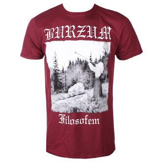 tricou stil metal bărbați Burzum - FILOSOFEM 2018 (MAROON) - PLASTIC HEAD, PLASTIC HEAD, Burzum