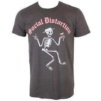 tricou stil metal bărbați Social Distortion - SKELLY LOGO - PLASTIC HEAD, PLASTIC HEAD, Social Distortion