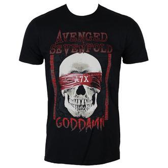 tricou stil metal bărbați Avenged Sevenfold - GODDAMN - PLASTIC HEAD, PLASTIC HEAD, Avenged Sevenfold