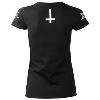 tricou hardcore femei - SATAN IS REAL - AMENOMEN, AMENOMEN