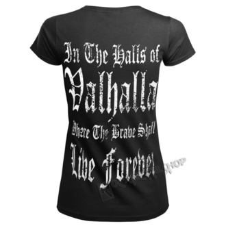 tricou femei - THE ALMIGHTY TAUGHT ME TO FEAR NOTHING - VICTORY OR VALHALLA, VICTORY OR VALHALLA