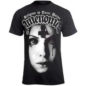 tricou hardcore bărbați - RELIGION IS TOXIC DETOX - AMENOMEN, AMENOMEN