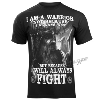 tricou bărbați - I AM A WARRIOR - VICTORY OR VALHALLA, VICTORY OR VALHALLA