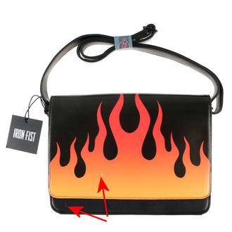 geantă de mână IRON FIST - Fire Sign - Negru - DETERIORATĂ, IRON FIST