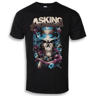 tricou stil metal bărbați Asking Alexandria - Hat Skull - ROCK OFF, ROCK OFF, Asking Alexandria