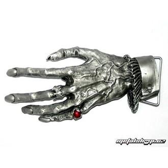 Cataramă pentru curea din piele Hand 1, ALCHEMY GOTHIC