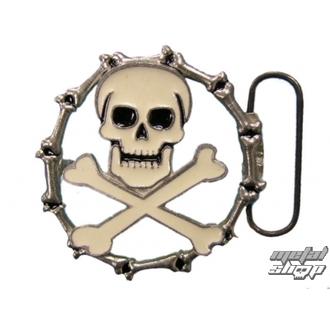 cataramă pentru piele curea Craniu 35