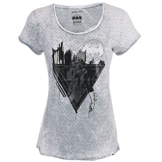 tricou cu tematică de film femei Batman - LIGHT GREY -