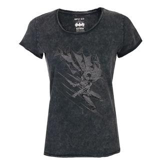 tricou cu tematică de film femei Batman - BLACK -