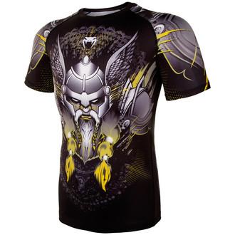 a bărbaţilor termo tricou Venum - Viking 2.0 Rashguard - Negru / Galben, VENUM