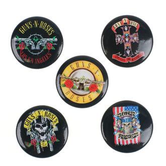 Insigne Guns N' Roses - Bullet Logo - RAZAMATAZ, RAZAMATAZ, Guns N' Roses
