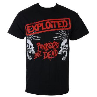 tricou stil metal bărbați Exploited - PUNKS NOT DEAD I SKULLS - RAZAMATAZ, RAZAMATAZ, Exploited