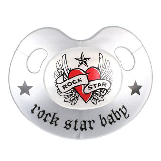 Suzetă ROCK STAR BABY - Heart & Wings, ROCK STAR BABY