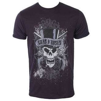 tricou stil metal bărbați Guns N' Roses - Faded Skull - ROCK OFF, ROCK OFF, Guns N' Roses