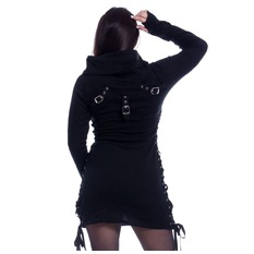 Pulover Femei Poizen Industries - REECE TOP LADIES BLACK, POIZEN INDUSTRIES