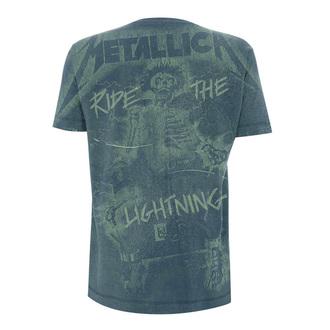 tricou stil metal bărbați Metallica - Ride The Lightening A/O -, Metallica