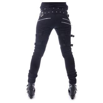 Pantaloni damă HEARTLESS - RESTRICTION - BLACK, HEARTLESS