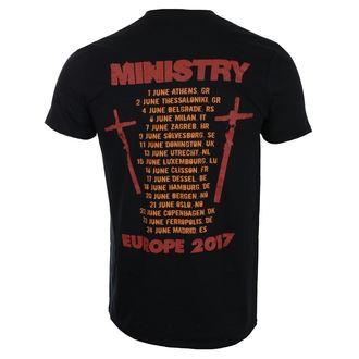 tricou stil metal bărbați Ministry - Hot Rod - ROCK OFF, ROCK OFF, Ministry