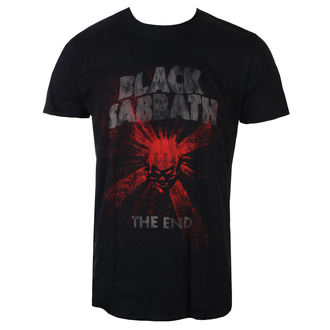 tricou stil metal bărbați Black Sabbath - The End Skull Shine - ROCK OFF, ROCK OFF, Black Sabbath