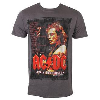 tricou stil metal bărbați AC-DC - Donington Set List - ROCK OFF, ROCK OFF, AC-DC