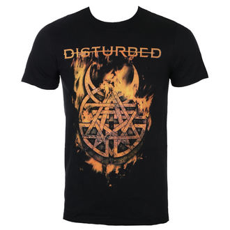 tricou stil metal bărbați Disturbed - Burning Belief - ROCK OFF, ROCK OFF, Disturbed