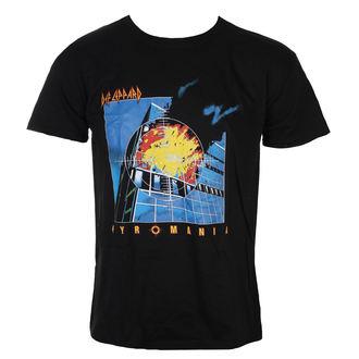 tricou stil metal bărbați Def Leppard - Pyromania - ROCK OFF, ROCK OFF, Def Leppard