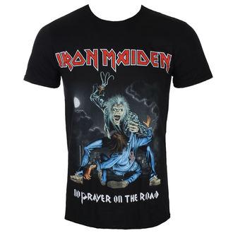 Tricou bărbătesc Iron Maiden - No Prayer On The Road - Black- ROCK OFF, ROCK OFF, Iron Maiden