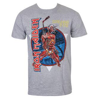 Tricou bărbătesc Iron Maiden - Somewhere In Time - Grey- ROCK OFF, ROCK OFF, Iron Maiden