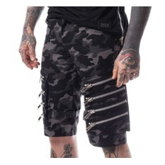 Pantaloni bărbătești scurți Heartless - ARVID - GREY CAMO, HEARTLESS