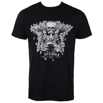 tricou stil metal bărbați Guns N' Roses - Skeleton Guns - ROCK OFF, ROCK OFF, Guns N' Roses