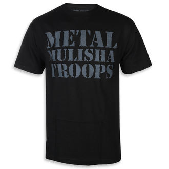 tricou de stradă bărbați - OG TROOPS BLK - METAL MULISHA, METAL MULISHA