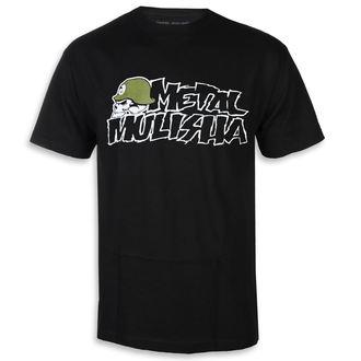 tricou de stradă bărbați - IKON BLK - METAL MULISHA, METAL MULISHA