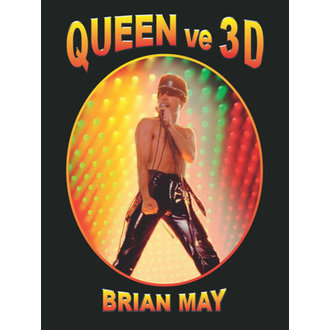 Carte QUEEN în 3D - Brian May, NNM, Queen