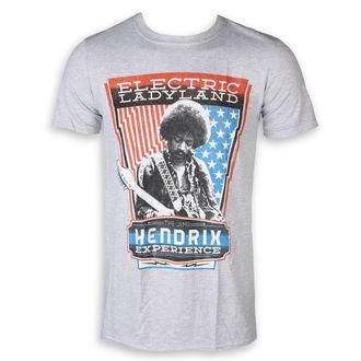 tricou stil metal bărbați Jimi Hendrix - Electric - ROCK OFF, ROCK OFF, Jimi Hendrix