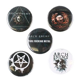Insigne cu bolț de prindere Arch Enemy - RAZAMATAZ, RAZAMATAZ, Arch Enemy