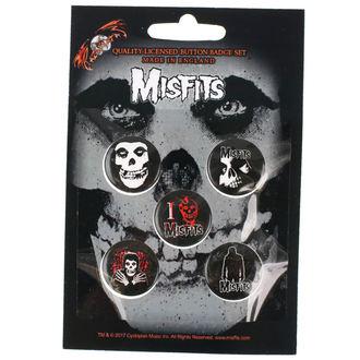 Insigne cu bolț de prindere Misfits - RAZAMATAZ, RAZAMATAZ, Misfits